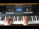 Как играть мелодию Mocсona OST Реклама кофе by Toffa Alimoff
