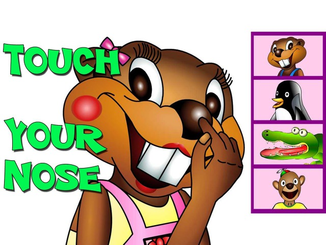 Touch Your Nose - TPR Total Physical Response Teaching