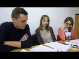 Auf der Bank: Ein Beratungsgespräch (Anja, Zhenja und Iwan)