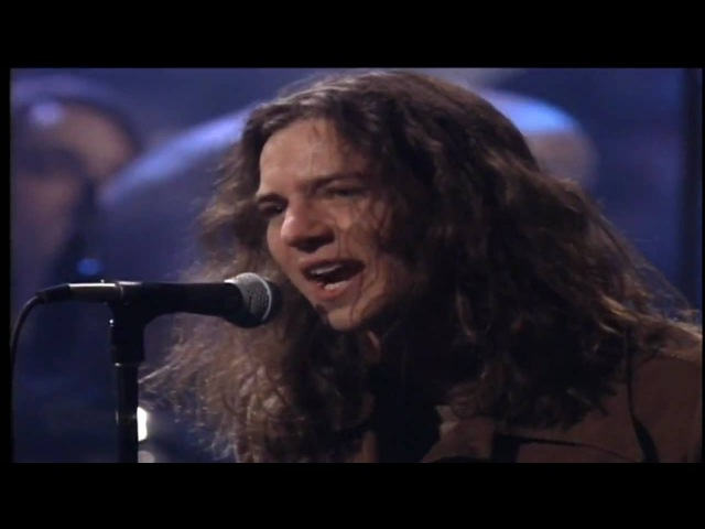 Pearl Jam - Even Flow [LIVE UNPLUGGED] (720p) HD