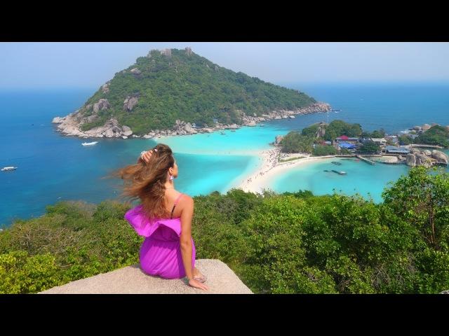 Amazing Koh Tao Koh Nang Yuan Thailand Остров Нанг Юань и остров Ко Тао Таиланд