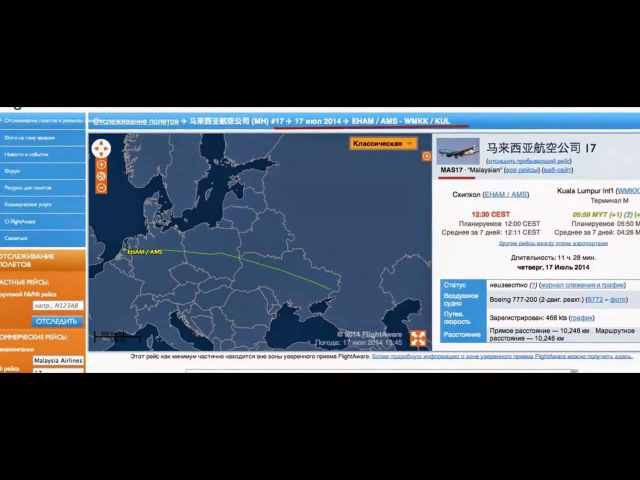 Подстава России - кто виновен в гибели Боинга 777 над Украиной - видео от Анатолия Шария