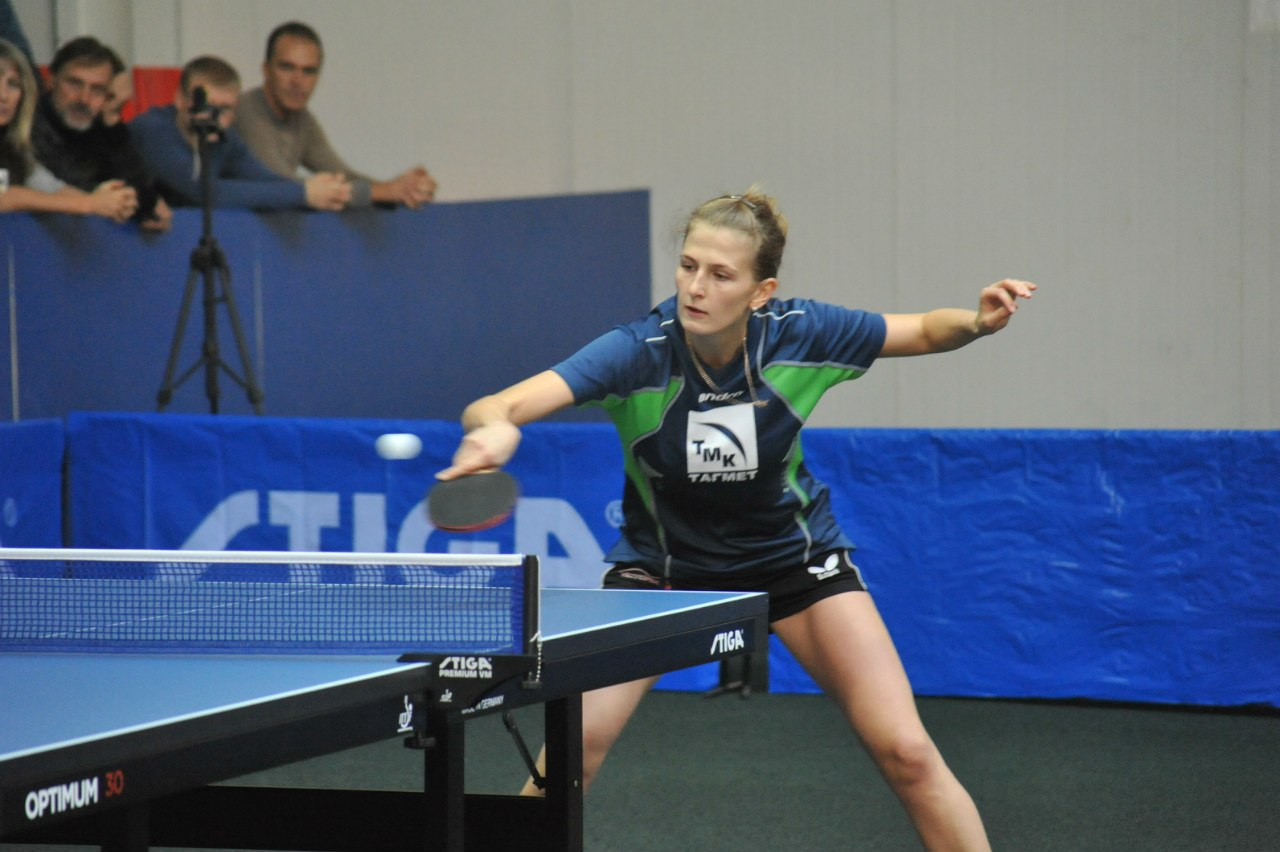 Теннисистки «ТМК-ТАГМЕТ» лидеры чемпионата России