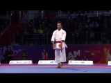 World Combat Games 2013. DACK vs AHMED. Karate Mens Kata. Bronze Medal