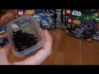 Обзор на коллекцию лего звёздные войны LEGO Star Wars Collection Часть II