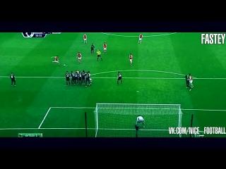 Free Kick Ozil | vk.com/nice_football