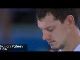 Сергей Моня и Руслан Патеев в матче с Францией