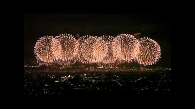 Лучший Фейерверк За всю Историю создания. The best fireworks ever.