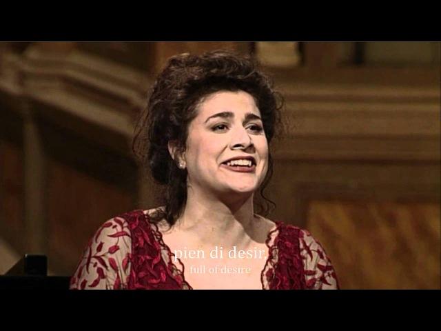 Mozart - Voi che sapete (Cecilia Bartoli) HD subtitles