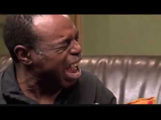 Epic black man crying