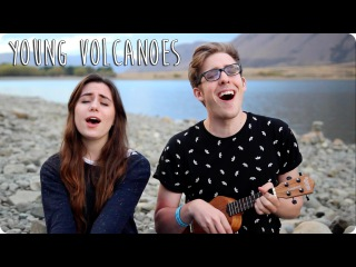 Young Volcanoes | Evan Edinger Dodie Clark Fall Out Boy Ukulele Cover