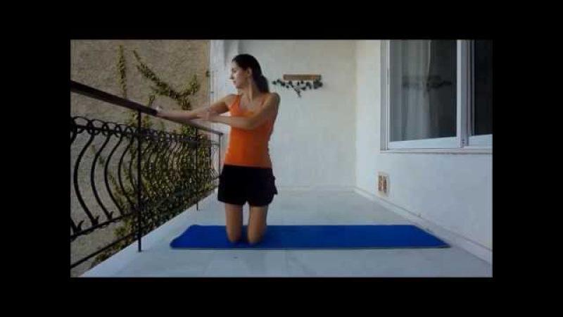 Упражнения для исправления кифоза/сутулости/ Как исправить сутулость/ осанку