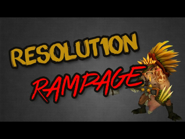 Resolut1on Rampage vs. Burden United @ D2CL Season 5 LAN