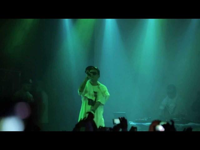 Guf - Паразит Новый трек из альбома (LIVE) (16.11.2013)