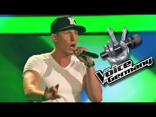 Для тех кто любит рэп. Шоу «Голос» Германия 2014. - Алекс Хартунг с песней Эминема