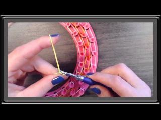 Rainbow Loom Qurily Armband Moon Loom Anleitung Deutsch   Loom Bands