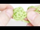 Кольцо амигуруми волшебное, скользящее ♥ 7 урок