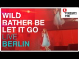 Sapphire LIVE in Berlin, Germany for Videodays 2015. WildRather BeLet It Go MASHUP!