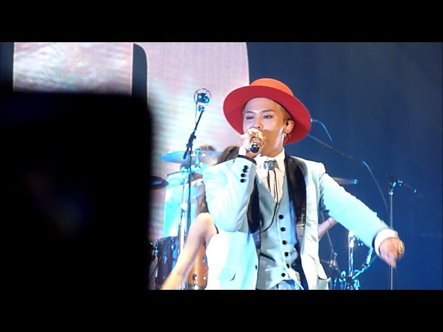 [HD] 150718 BIGBANG SOBER Live at 2015 WORLD TOUR 'MADE' in Singapore