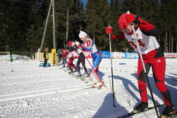 Лыжный спринт в Лысьве