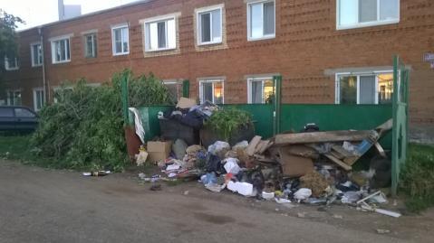 Жительница Чистополя пожаловалась на скопление мусора на улице Карьерная – «Народный контроль»