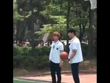 Fancam Gong Tae Kwang and Han Yi An