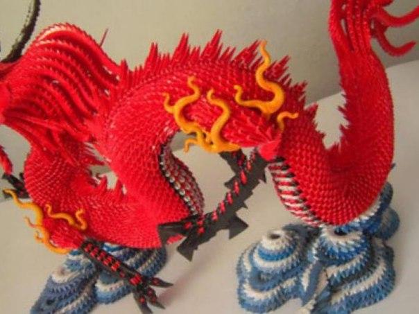 Как сделать из модулей маленького дракона