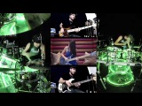 David Guetta - Dangerous - Drum Cover (Drum View) (Bass Cover Ft. Anna Sentina &amp Miki Santamaria)