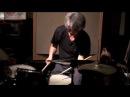 Shoji Hano drums solo @ Inage Candy