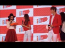 Lee Minho exchanges gift with Malaysian actress Emily Chan - Grand Launch of 11street in Malaysia