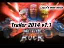 Motor Rock NEW TRAILER 2014 v1.1 (Rock n Roll Racing 3D) Larry's new Voice, Gameplay, Cars & more