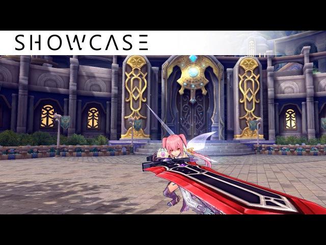[Showcase] Aura Kingdom Crusader/Brawler (Great Sword/Katars) - Skills Combo Gameplay