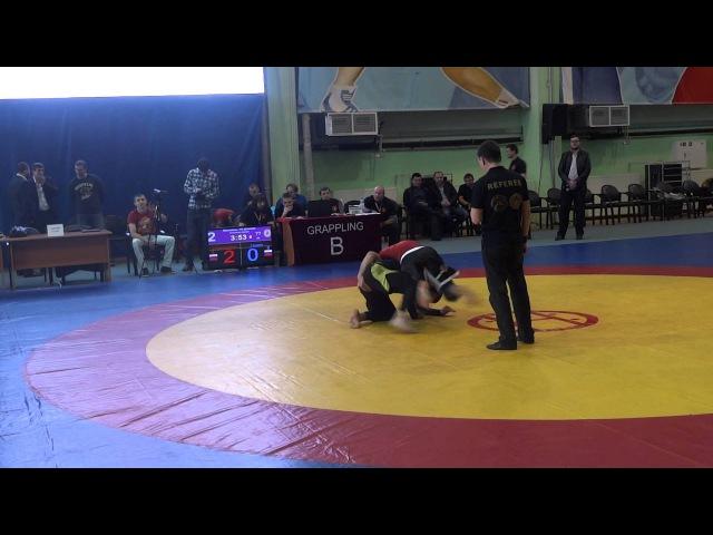 ЧР по Грепплингу UWW 2015 77 кг 1 16 финала Абдулкадыров Магомед