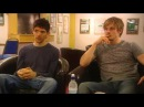 The Real Merlin And Arthur (Bradley James / Colin Morgan) Nov 2009