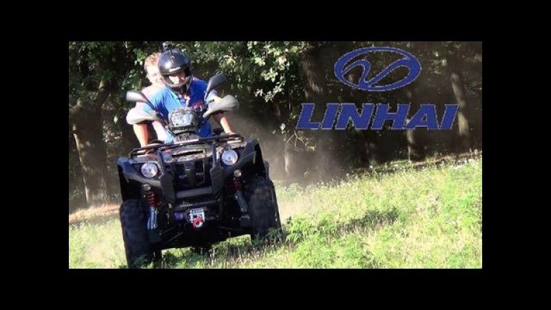 Квадроцикл Linhai-Yamaha 550 LONG BASE Видео Обзор Mototek