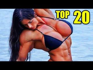 Female Bodybuilders - TOP 20 - 2015   Top 20 Female Muscle