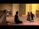 Муж жестоко разыграл супругу сбросив игрушечного ребенка с лестницы