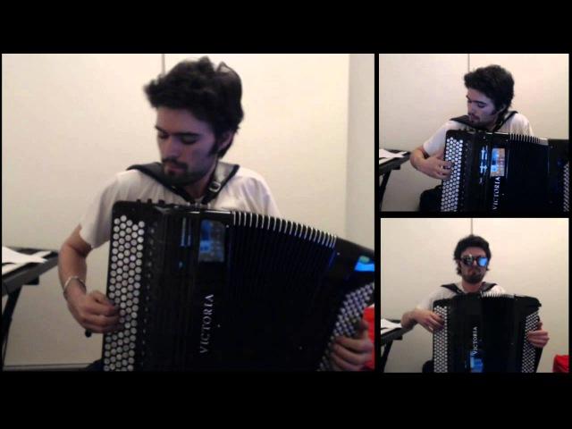 Thunderstruck - ACDC - CharlesPlays (accordion cover)