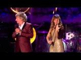 Rod Stewart &amp Nicola Benedetti - White Christmas (tradus in romana)