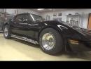 Восстановительная полировка ЛКП Защитное покрытие для кузова автомобиля Black 1985 GM Corvette