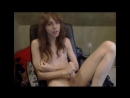 Молодой трансик кончает в чате / Young tranny cumming in chat on webcam