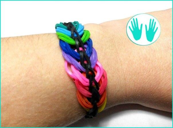 Видео плетем браслеты от сергея