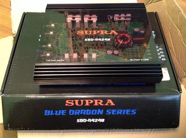 усилитель Supra SBD-A4240-