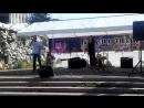 Выступление на флешмобе. L-Cos и Анастасия Крутоверцева - Улыбнись мне