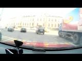 Москва. Бауманка-Дербеневка За 20мин в час пик.