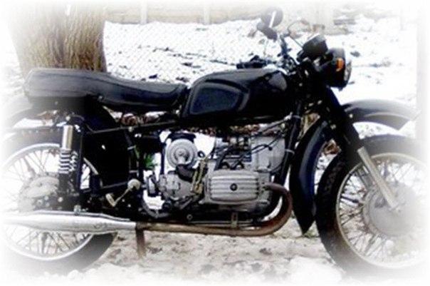 Первый мотоцикл