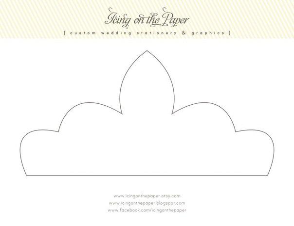 Корона из бумаги для принцессы своими руками