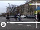 Люди з вадами зору проїхались на велотандемі