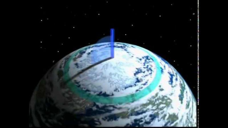 Земля космический корабль Зима Tous sur orbite