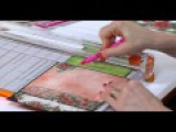 How to use Blazing Poppy papers to create fabulous cards